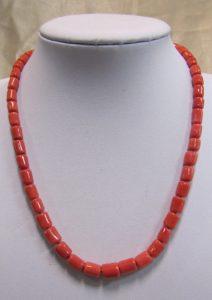 Ogrlica od jadranskih koralja #6 Nautilus
