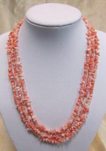 Ogrlica od tropskih koralja 6 Nautilus