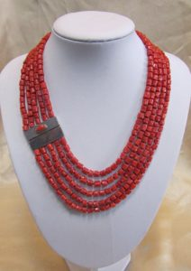 Ogrlica od jadranskih koralja 4 Nautilus