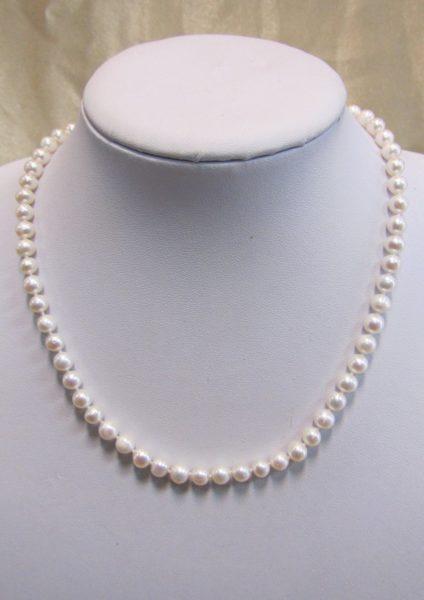 Ogrlica od riječnih bisera 5 Nautilus
