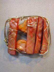 Broš od školjaka 1 Nautilus