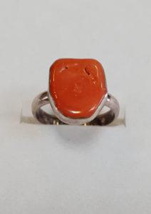 Prsten od jadranskih koralja 16 Nautilus nakit