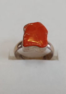 Prsten od jadranskih koralja 17 Nautilus nakit