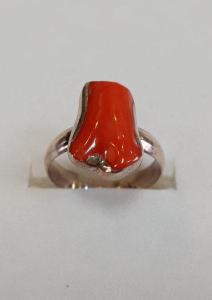 Prsten od jadranskih koralja 18 Nautilus nakit