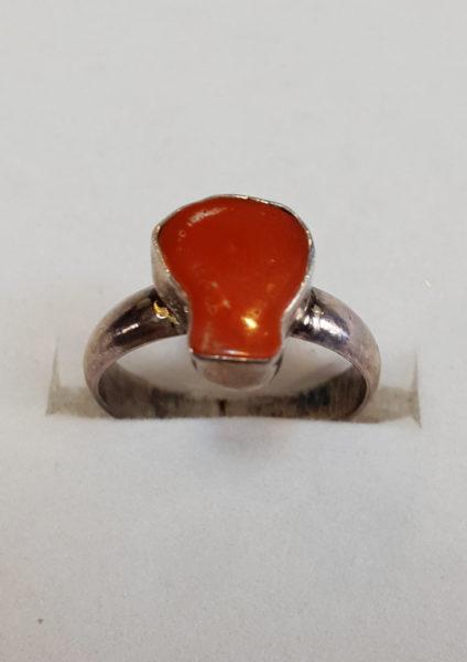 Prsten od jadranskih koralja 22 Nautilus nakit