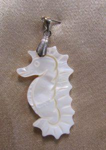 Privjesak od sedefa 2 Nautilus nakit
