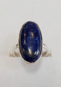 Prsten od lapis lazulija 2 Nautilus nakit