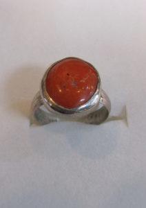 Prsten od jadranskih koralja 5 Nautilus nakit