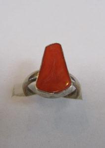 Prsten od jadranskih koralja 8 Nautilus nakit