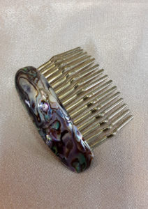 Češljić za kosu od haliotisa 1 Nautilus nakit
