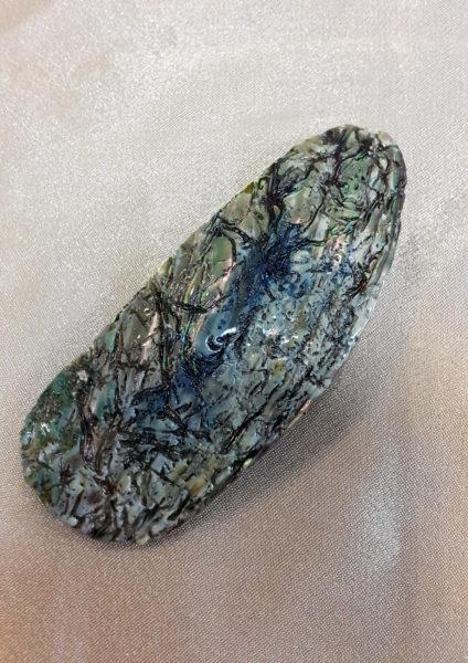 Kopča za kosu od haliotisa 1 Nautilus nakit