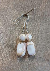 naušnice od sedefa nautilus nakit