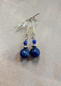 nausnice nautilus nakit lapis lazuli