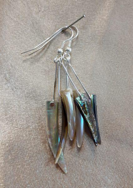 naušnice nautilus nakit školjke