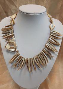 ogrlica nautilus nakit školjke