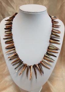 ogrlica od školjaka nautilus nakit