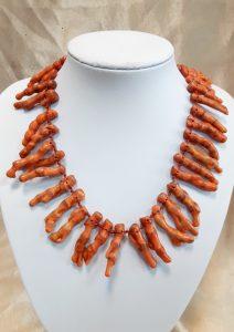 ogrlica nautilus nakit tropski koralji