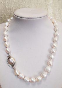 Nautilus nakit ogrlica riječni biseri 15