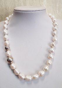 Nautilus nakit ogrlica riječni biseri 14