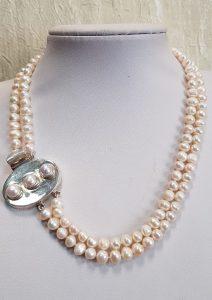 Nautilus nakit ogrlica riječni biseri 16