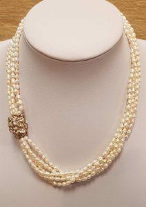 ogrlica riječni biser 26 nautilus nakit
