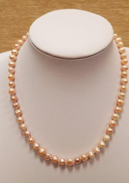 ogrlica od riječnih bisera 24 nautilus nakit