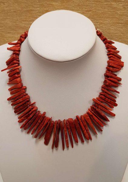 ogrlica tropski koralj 19 nautils nakit