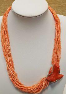 ogrlica tropski koralj jadranski koralj nautilus nakit 1