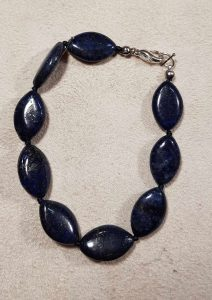 narukvica lapis lazuli nautilus 1