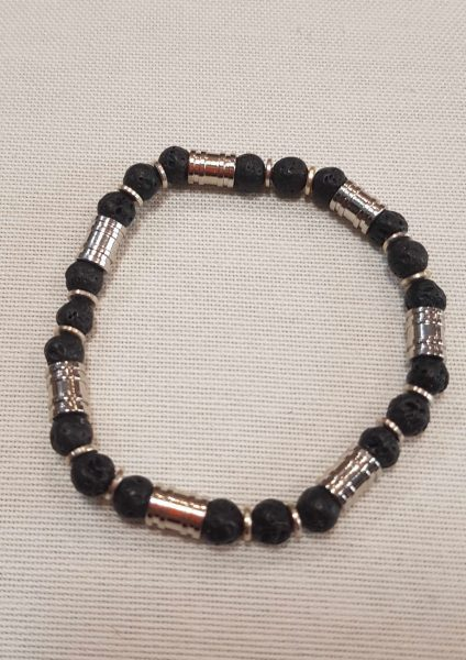 narukvica_lava kamen_nautilus nakit