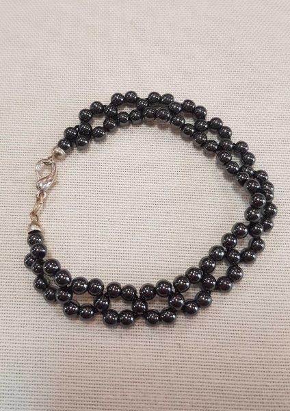 narukvica_hematit_nautilus nakit