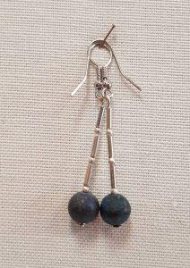 naušnice_lapis lazuli_nautilus nakit