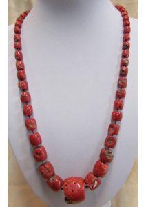 Ogrlica od jadranskih koralja #7 Nautilus