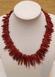 ogrlica tropski koralj 17 nautilus nakit