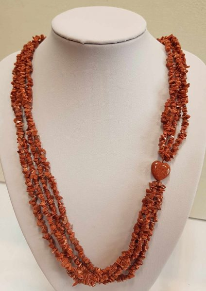 ogrlica_pješćani kamen_nautilus nakit